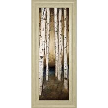 """Birch Landing III"" By St Germain Framed Print Wall Art"