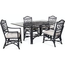 See Details - Chippendale Rectangular Dining Room Set