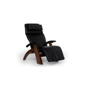 Perfect Chair ® PC-610 - Black Premium Leather - Walnut