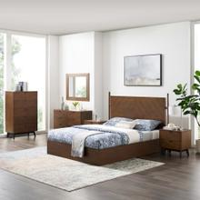 Kali 6-Piece Bedroom Set in Walnut