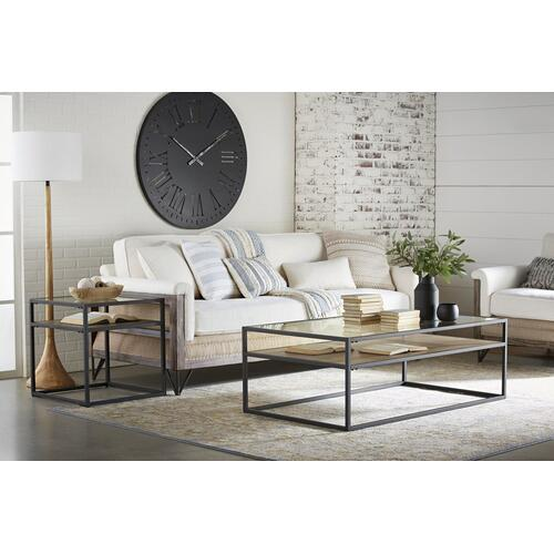 TABLE,COFFEE- SHOWCASE- RANCH