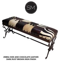 See Details - Old World  Wrought Iron  Bench