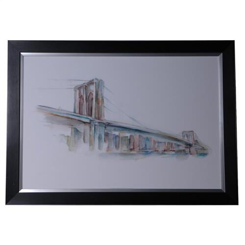 CUSTOM WATERCOLOR BRIDGE SKETCH 2