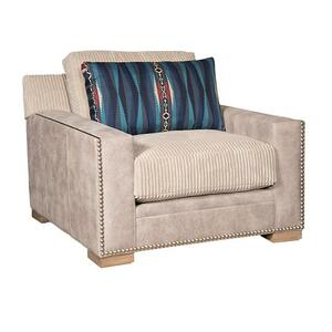 California Chair & 1/2, California Ottoman