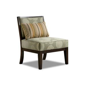 Simmons Upholstery - Accent Wood Cocktail Ottoman