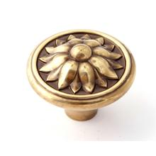 Product Image - Fiore Knob A1472 - Unlacquered Brass