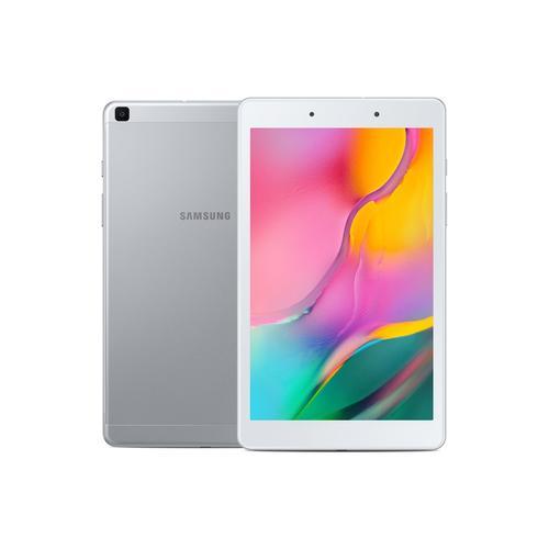 """Samsung - Samsung Galaxy Tab A 8.0"""" (2019), 32GB, Silver (Wi-Fi)"""
