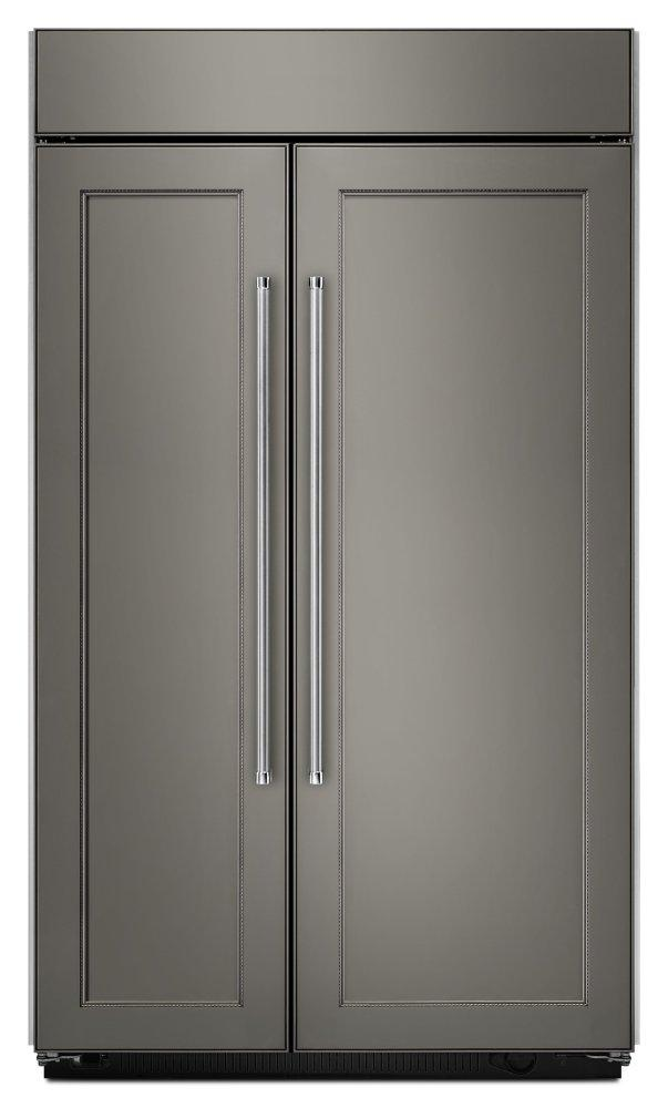 Kitchenaid25.5 Cu. Ft 42-Inch Width Built-In Side By Side Refrigerator - Panel Ready Pa