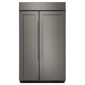 25.5 cu. ft 42-Inch Width Built-In Side by Side Refrigerator - Panel Ready PA