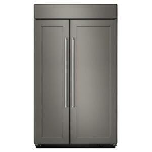 KitchenAid 25.5 Cu. Ft 42-Inch Width Built-In Side By Side Refrigerator - Panel Ready Pa