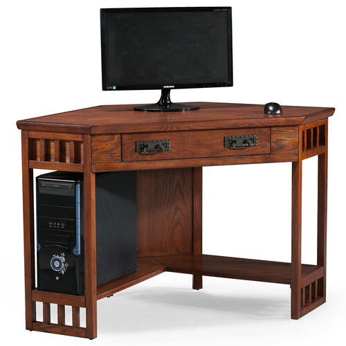 Mission Oak Corner Computer/Writing Desk #82430