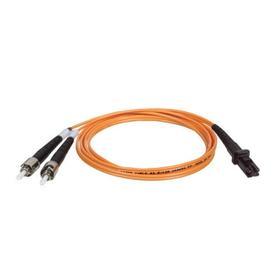 Duplex Multimode 62.5/125 Fiber Patch Cable (MTRJ/ST), 3M (10 ft.)