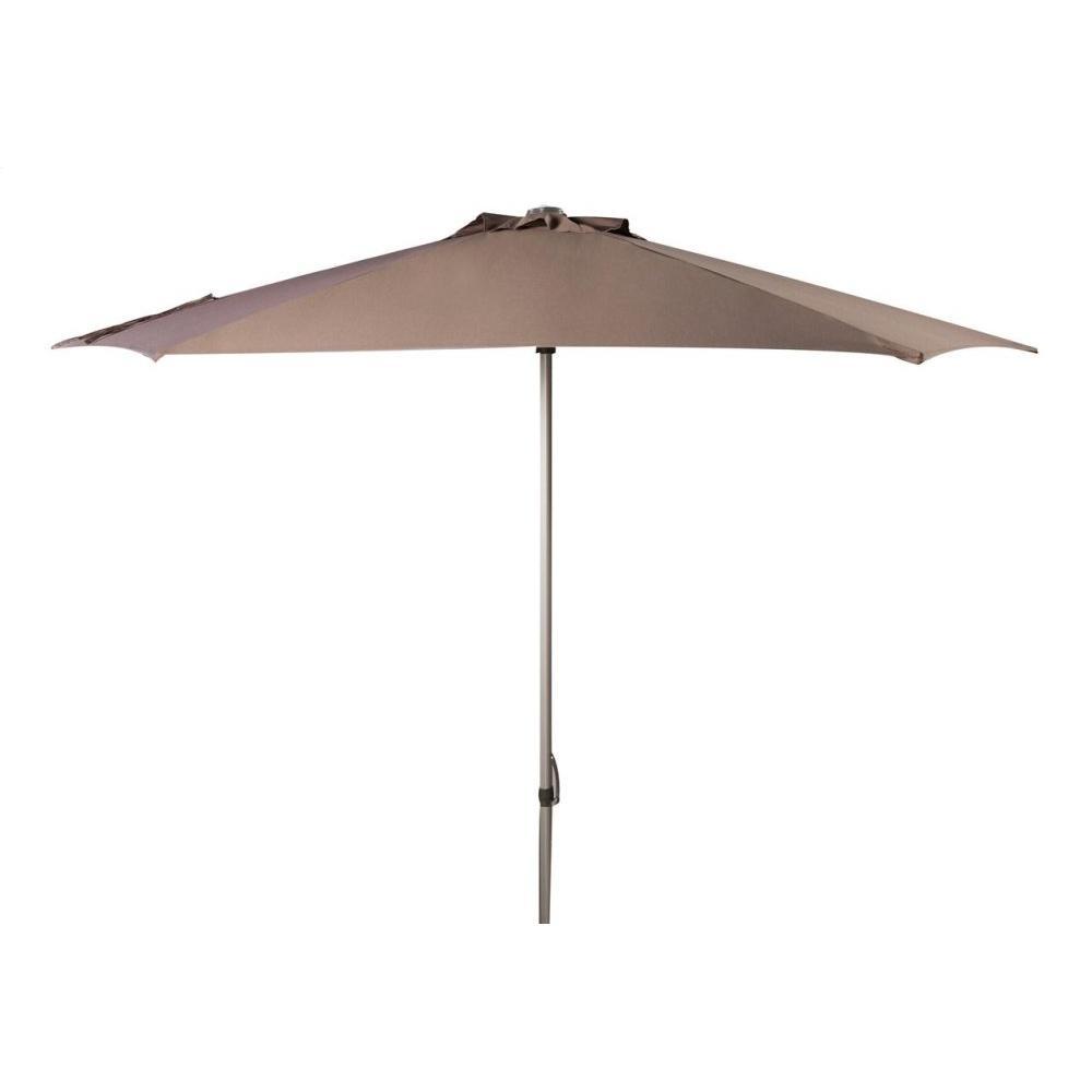 Hurst 9 Ft Push Up Umbrella - Grey