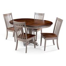 Mary Pedestal Set with Alex Chair
