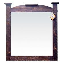 See Details - Med Wax Mansion Mirror