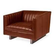 Wallace Chair Saddle Brown Leather