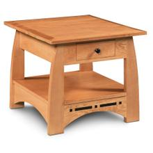 See Details - Aspen 1-Drawer End Table with Inlay
