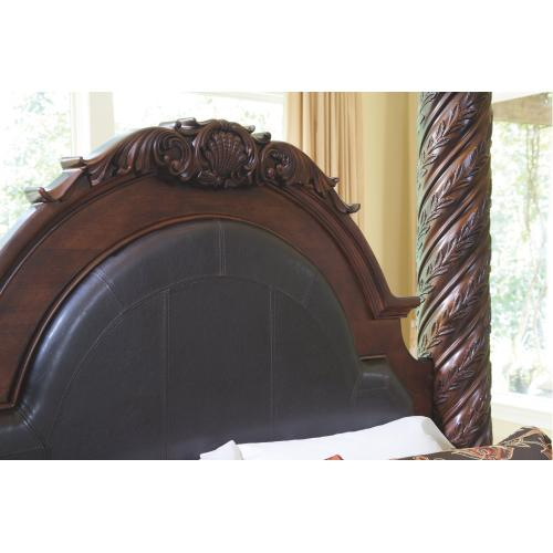 California King Poster Bed With Canopy With Dresser