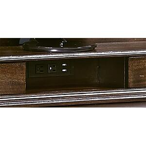 "74"" Credenza Desk w/ sliding top"