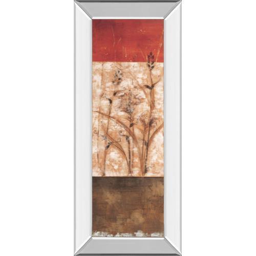 """""""Fresco Il"""" By Loretta Linza Mirror Framed Print Wall Art"""