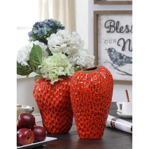 Strawberry Small Vase