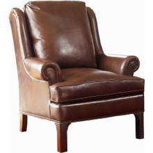 Leather Pinehurst Wing Chair