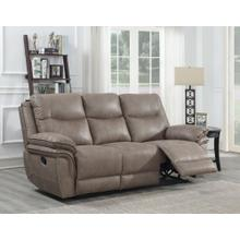 Isabella Manual Reclining Sofa, Sand