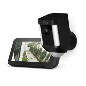 Spotlight Cam Battery with Echo Show 5 - Black