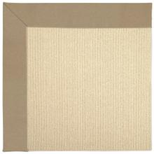 "Creative Concepts-Beach Sisal Canvas Camel - Rectangle - 24"" x 36"""