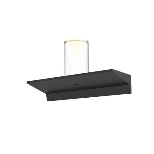 "Sonneman - A Way of Light - Votives LED Wall Bar [Size=1', Color/Finish=Satin Black, Shade Size=3"" height x 2.25"" diameter]"
