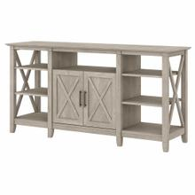 See Details - Tall TV Stand for 65 Inch TV, Washed Gray