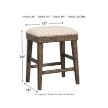 View Product - Wyndahl Upholstered Stool