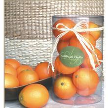 9Pc Faux Oranges