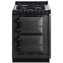 "AGA Module 24"" Electric/Natural Gas Pewter with Stainless Steel trim"