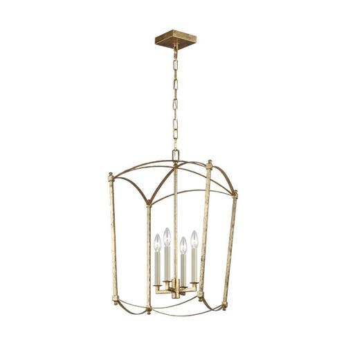 Thayer Medium Lantern Antique Gild