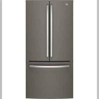 GE 18.6 Cu. Ft. Counter-Depth French-Door Refrigerator Slate - GWE19JMLES