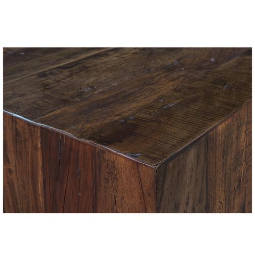 Ebonized Walnut Coffee Table