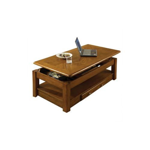 Nelson Lift-Top Cocktail Table, Oak