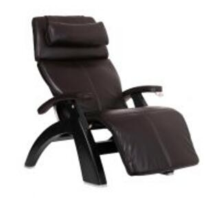 Perfect Chair ® PC-420 Classic Manual Plus - Espresso Premium Leather - Matte Black
