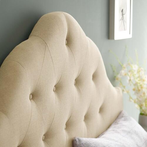 Modway - Sovereign Full Upholstered Fabric Headboard in Beige