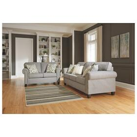 Alandari Sofa & Loveseat Gray