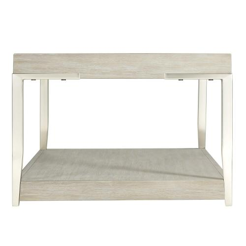 Lilly - Tray-top Coffee Table - Champagne Finish