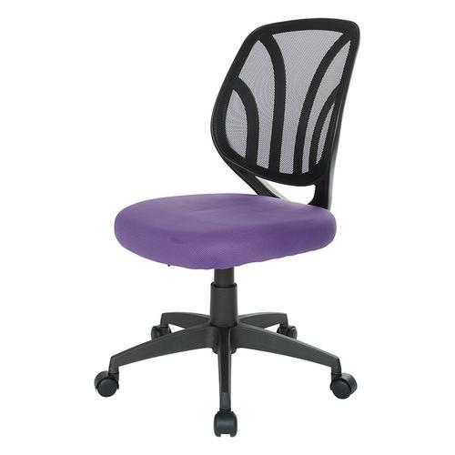 Screen Back Armless Task Chair
