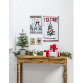 Welcome Jingle Bell Plaque