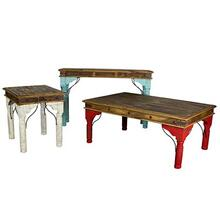 Turquoise Console Table Indian Painted Table Collection