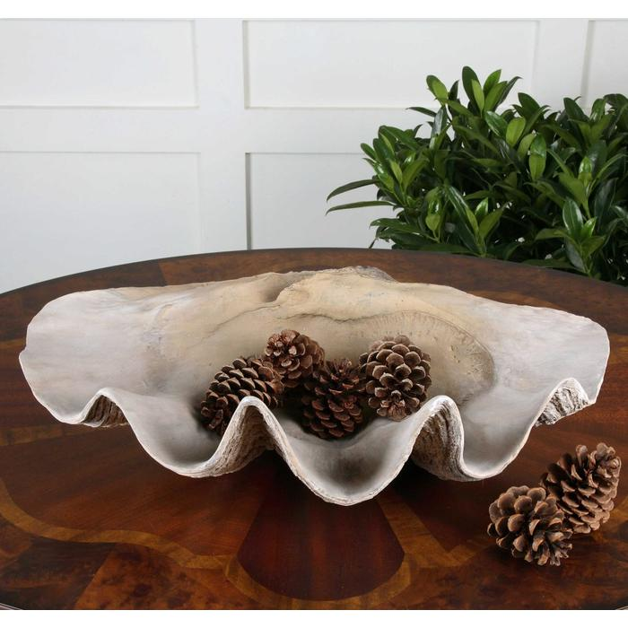 Uttermost - Clam Shell Bowl