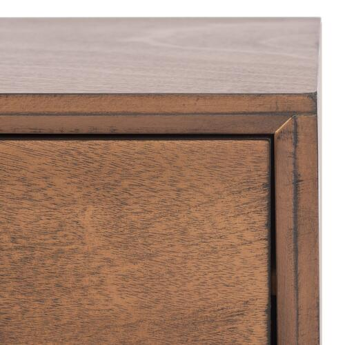 Safavieh - Mozart Mid Century 2 Drawer Coffee Table - Brown