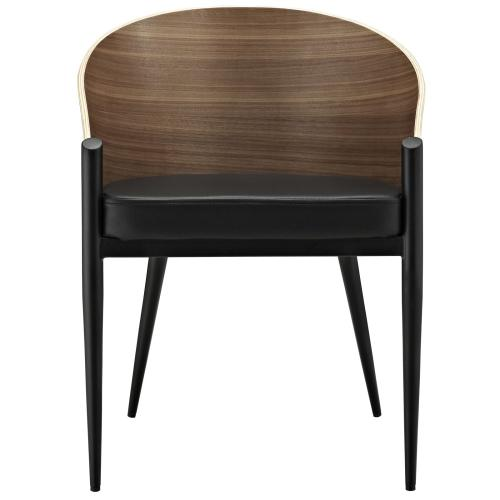 Cooper Dining Wood Armchair in Walnut