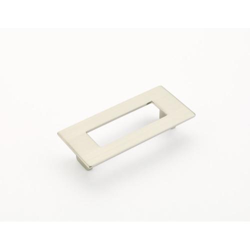 Finestrino, Pull, Rectangle, Satin Nickel, 96 mm cc