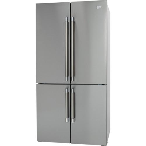 "36"" Counter-depth, Four-door French Door with Ice Maker"